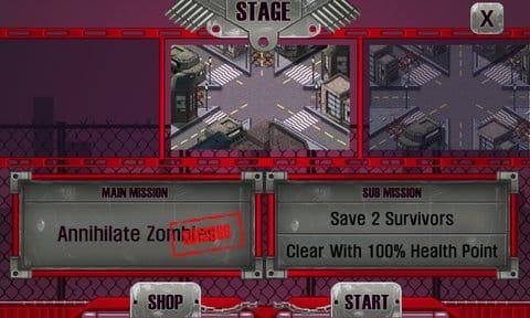 ゾンビハンター LITE:ミッション・サブミッションをクリアして報酬をGET