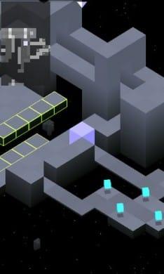EDGE Demo:光るブロックを集めてゴール地点までいこう。