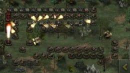 栄光の兵士たち:第二次世界大戦無料:なるべく敵を迂回させるようにユニットを配置しよう