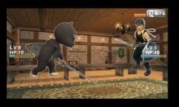 クイズRPG:正解すると敵を攻撃できる。
