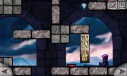 Magic Portals Free:ジャンプできないぶん魔法でカバーするゲーム。