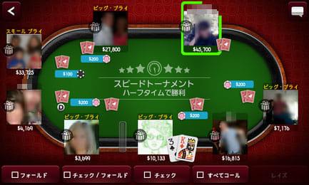 Zynga Poker:基本的な操作を覚えたら、実戦で勝負感を養う
