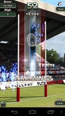 Flick Nations Rugby:シンプルな操作で爽快なプレイ感だ!