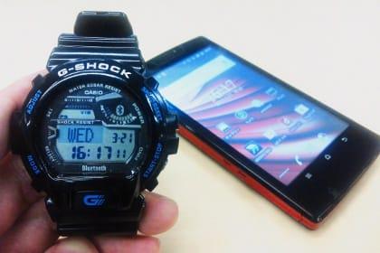 f9ae8706a2 スマートフォンと連携する「G-SHOCK GB-6900」をチェック