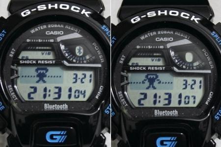 G-SHOCK GB-6900:Bluetooth接続中。。がんばれ