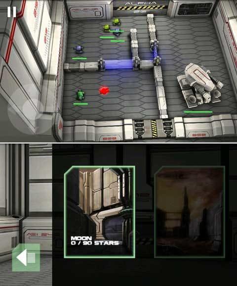 Tank Hero: Laser Wars Pro:ボスも登場!ドでかいやつを倒すと気持ちいいぜ!(上)ステージを制覇してタンクヒーローになろう!(下)