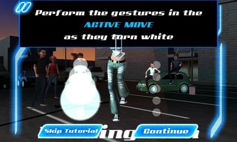 DANCE LEGEND MUSIC GAME:操作は画面の指示に合わしてスライドするだけ!