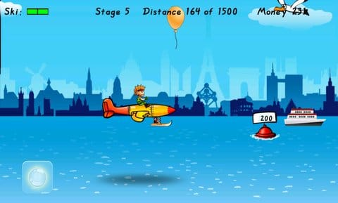 Birdman Rally:飛行機には人力プロペラもなく、ひたすら滑空するだけ!