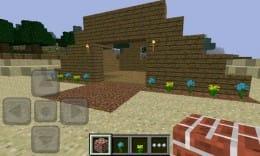 Minecraft - Pocket Edition:まずはマイホームを建ててみよう!
