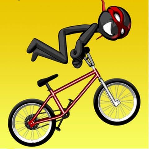 StickMan BMX Stunts Bike:妙に目立つ黄色のアイコン。気になるぜ!