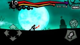 ダークブレイド:ゲーム画面から漂うこの中二感全快な感じが最高!