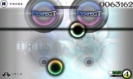 Cytus:上下に動くラインに合わせてポイントをタッチ!