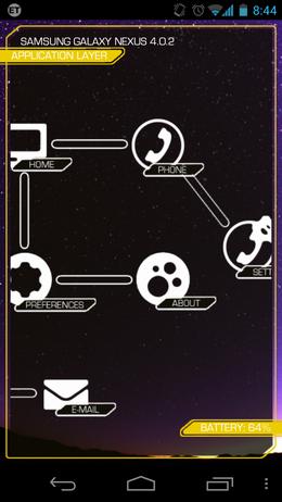 Rocket Launcher:メニュー画面