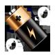 『Battery Info Widget』~バッテリー残量から、端末があと何分動くか時間で確認できる!~