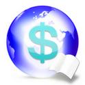 『海外旅行 お小遣い帳』~海外通貨で買った品物の金額が、自分の国の通貨に換算できる...