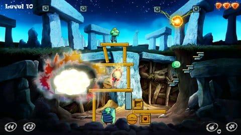 Zombie Granny: puzzle game:ステージ3から段々と難しくなってくるぞ。