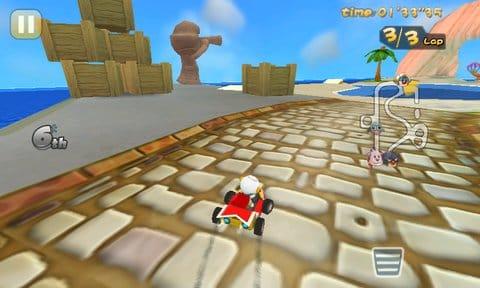 Mole Kart:第4ステージがかなりムズかしい!