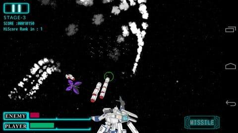 HERA 破滅の女神:ぐるっとカーブするミサイルの起動と噴煙が非常にカッコいい!