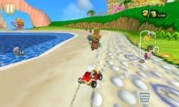 Mole Kart:コンピュータとの複数対戦が楽しい!