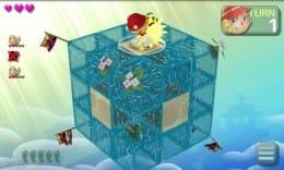 ColoQ:キューブをコロッと回転させて敵を倒そう。