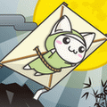 ねこ忍者~空を飛ぶの巻~