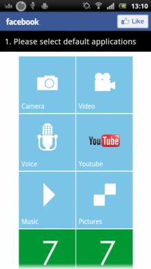 7 Widgets Media:アプリを登録