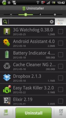 EZドロイド - すべての単一のツールで:アプリのアンインストーラー