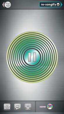 Songify:再生画面