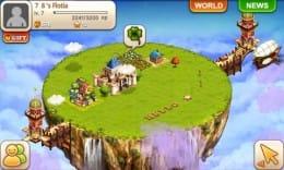 浮島ふわりん:浮島にある土地に都市を作ろう。
