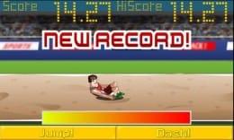 アスリートフィールド<陸上競技レース>無料ゲーム:目指せ新記録!4種類の競技が楽しめる。