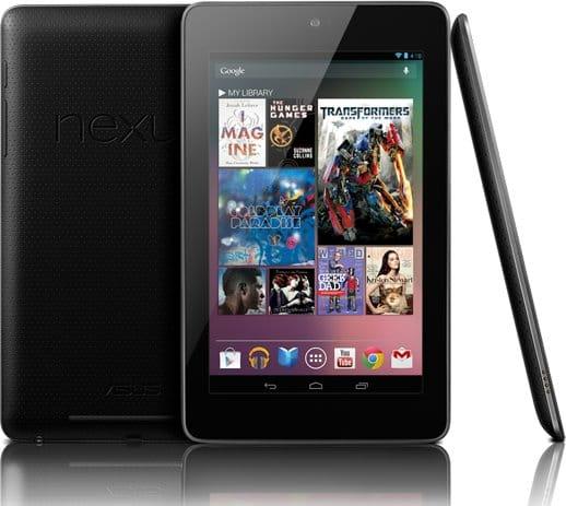 低価格のフラグシップタブレット「Nexus 7」