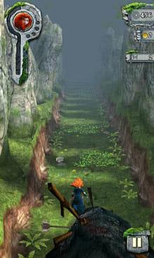 Temple Run: メリダとおそろしの森:メリダとなり森の魔法をとくために走れ!