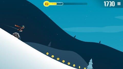 Ski Safari:動物に乗って加速しよう!逃げ延びるには彼らの存在が欠かせない!