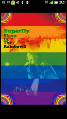 Superflyライブ壁紙-Shout In The Rai