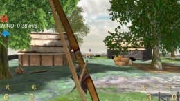 Longbow - Archery 3D Lite:風を計算して的を射抜こう!