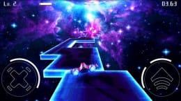 Starbounder:クールなビジュアルの宇宙空間を踏破するレースゲーム。