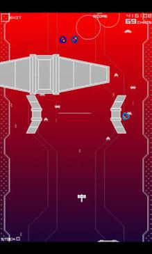 インフィニティジーン TS:自機を操作し、敵機を倒せ。