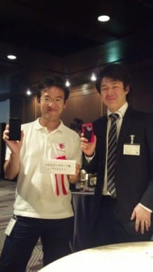 村井さんと記念写真パシャリ