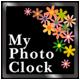 マイ写真時計 (ウィジェット)