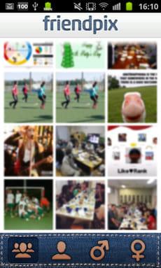 friendpix - 写真で楽しむFacebook