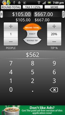 Tip Calculator by TradeFields:チップの金額を計算