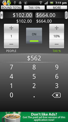 Tip Calculator by TradeFields