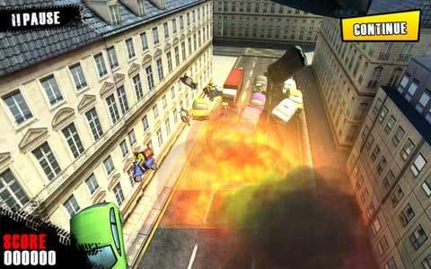 Traffic Panic London:爆発タイムでストレスを発散させよう!