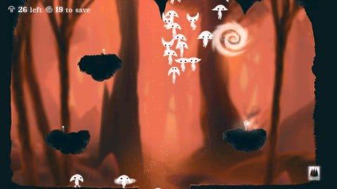 Spirits:様々な形に変形して仲間をワープゾーンまで運ぼう!