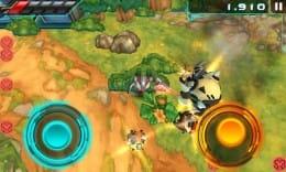 Armorslays:次々と出現する敵を撃ちまくれ。