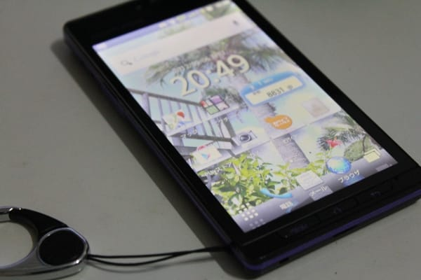 AQUOS PHONE 102SH(Android2.3)