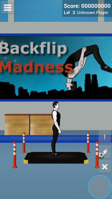 Backflip Madness Demo:ポイント1