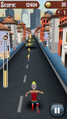 Angry Gran Run - Running Game:ポイント2