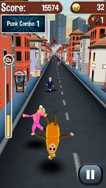 Angry Gran Run - Running Game:ポイント3