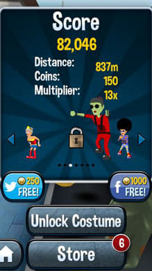 Angry Gran Run - Running Game:ポイント5